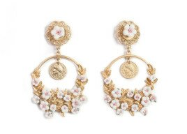Фото: Красивые сережки (Spring Flower Dolce&Gabbana Style Earrings) - 2
