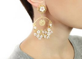 Фото: Красивые сережки (Spring Flower Dolce&Gabbana Style Earrings)